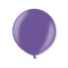 """Шар латексный 24"""" экстра, металл, цвет фиолетовый"""