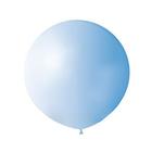 """Шар латексный 64"""" """"Гигант"""", пастель, цвет голубой"""