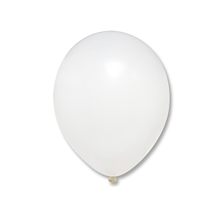 """Шар латексный 10"""", пастель, набор 500 шт., цвет белый - фото 308467942"""