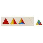 Головоломка «Треугольники», 10 элементов