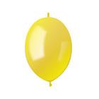 """Шар латексный 6"""", линколун, пастель, набор 100 шт., цвет жёлтый"""