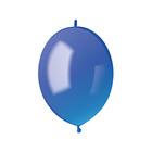 """Шар латексный 6"""" """"Линколун"""", пастель, набор 100 шт., цвет голубой"""