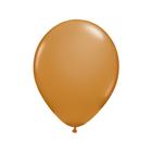 """Шар латексный 11"""", пастель, набор 100 шт., цвет коричневый - фото 233184638"""