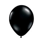 """Шар латексный 16"""", кристалл, набор 50 шт., цвет чёрный"""