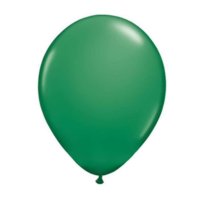 """Шар латексный 16"""", пастель, набор 50 шт., цвет зелёный - фото 183769428"""