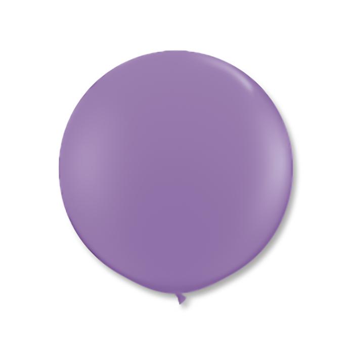 """Шар латексный 40"""", пастель, цвет лиловый - фото 308469221"""