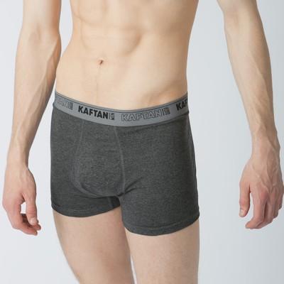 Трусы мужские KAFTAN, серый, размер 48