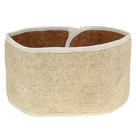 Belt from camel wool (circular), R-R 52-54-56