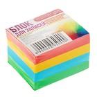 Блок бумаги для записей на склейке Calligrata 6х5х4, 80г/м2, цветной, интенсив
