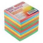 Блок бумаги для записей Calligrata 9х9х9, 80г/м2, непрокленный, цветной, интенсив