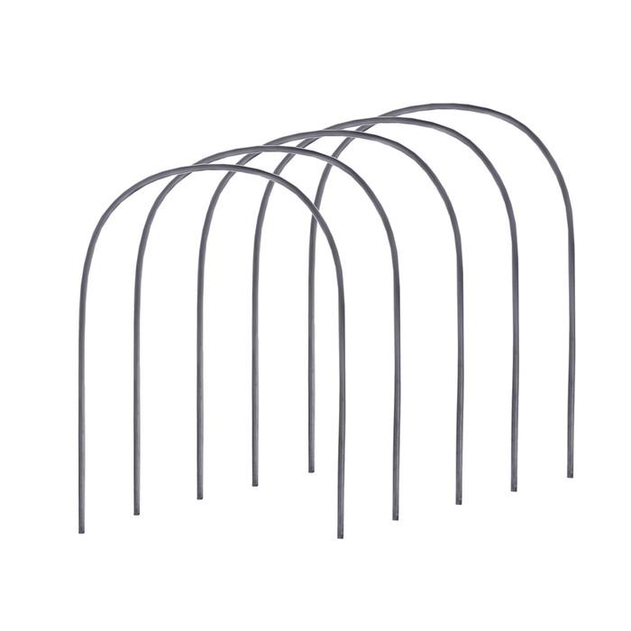 Комплект дуг парниковых, длина дуги 3 м, d = 20 мм, набор 5 шт., пластик