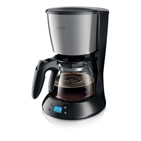 Кофеварка Philips HD 7459/20, капельная, 1000 Вт, 1.2 л, чёрная