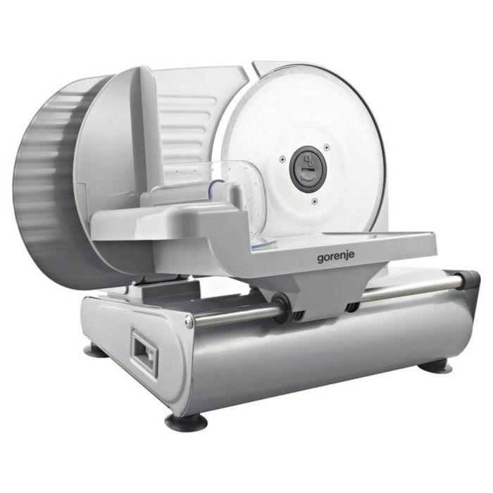 Слайсер Gorenje R606E, 180 Вт, нарезка до 15 мм, серебристый