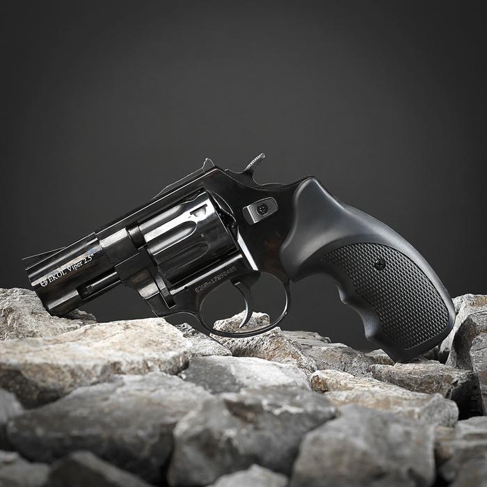 Револьвер сигнальный ECOL VIPER 2,5, под капсюль жевело кал. 5,6 мм