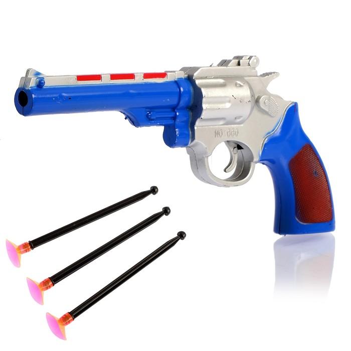 """Пистолет """"Полицейский"""", стреляет присосками"""