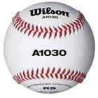 Мяч для бейсбола Wilson Championship, WTA1030B, натуральная кожа, пробковая сердцевина, белый