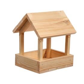 Kopмушка для птиц, 25 × 21 × 25 см