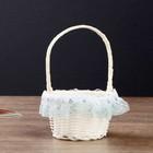"Basket decorative circle ""sequin"" MIX 14х9,5x9,5 cm"