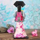 """Кукла коллекционная """"Китаянка в национальном платье с собакой"""" 32х12,5х12,5 см - фото 2218215"""