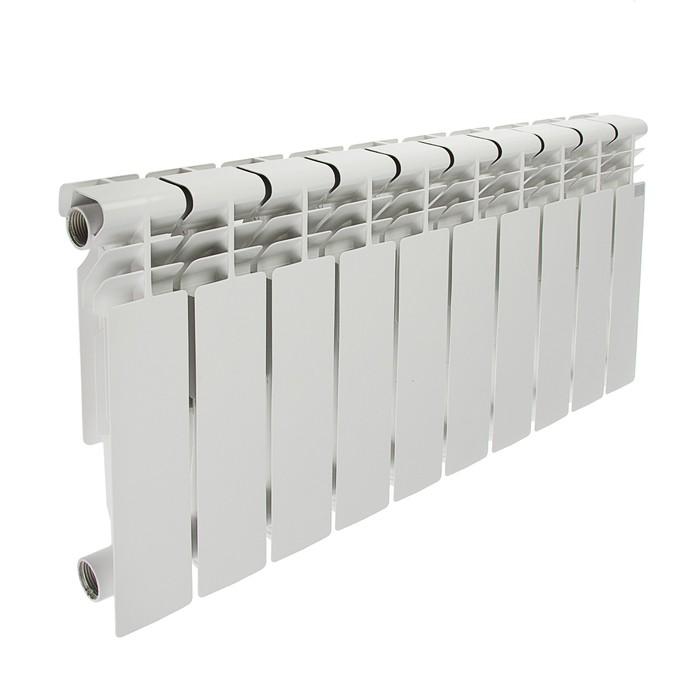 Радиатор алюминиевый STI, 350х80, 10 секции