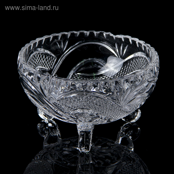 """The candy bowl 300 ml """"Venice"""", on legs"""