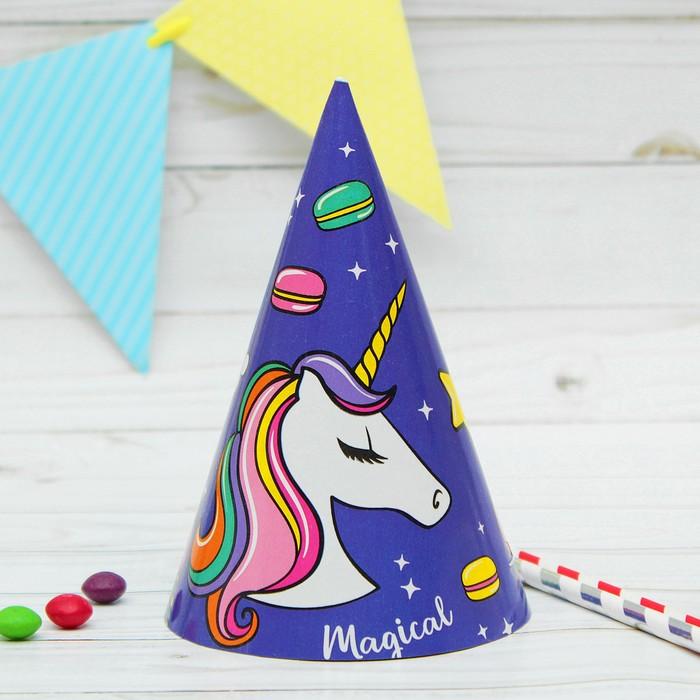 """Paper cap """"Unicorn"""", 16cm"""