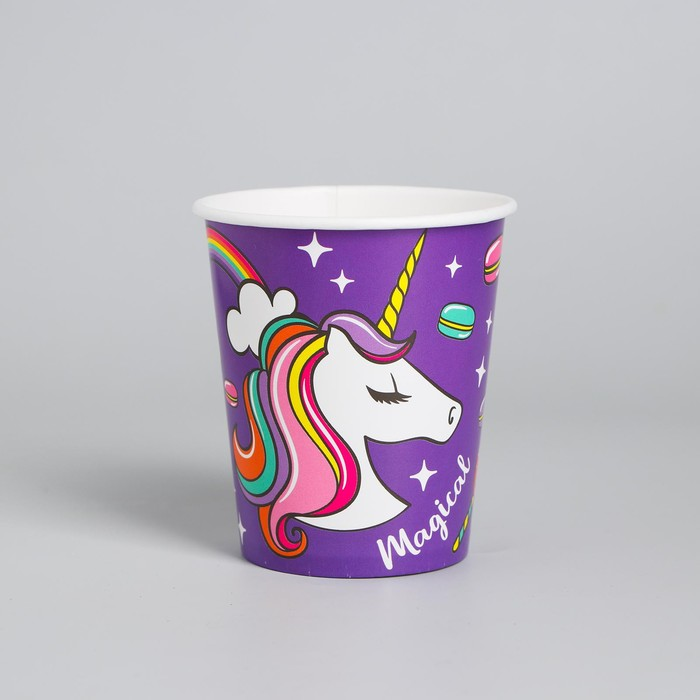 "Glass paper ""Unicorn"", 250ml."
