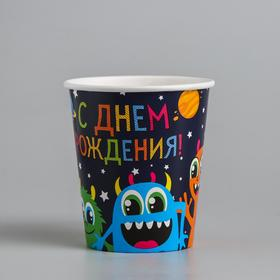 """Glass paper """"Monsters"""", 250 ml"""