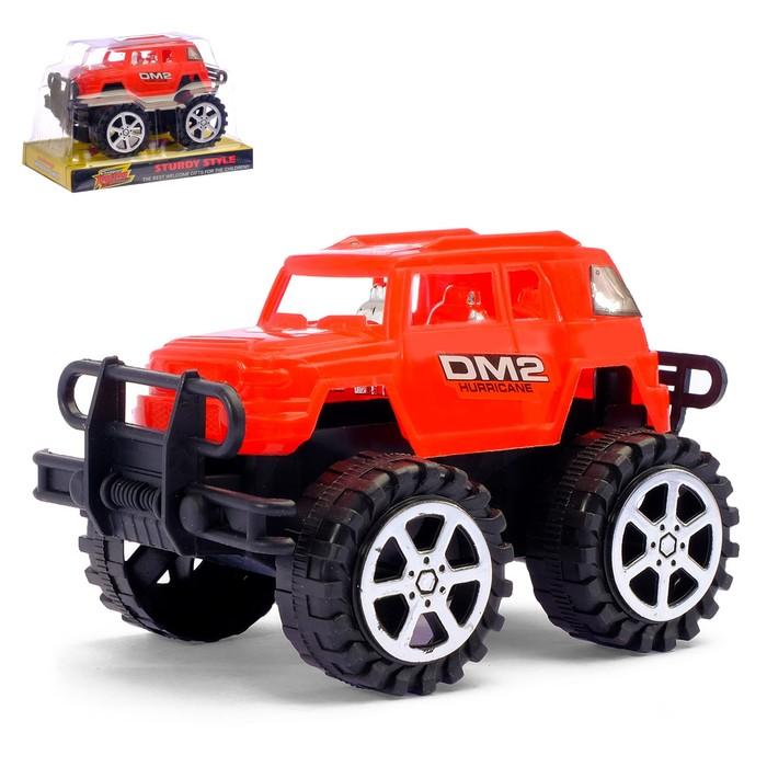 Машина инерционная «Маленький монстр» цвет МИКС