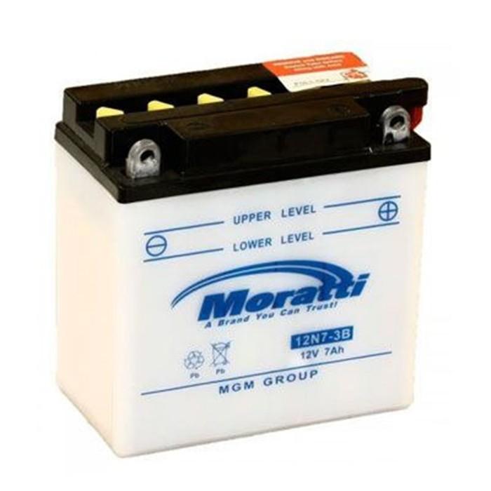 Аккумуляторная батарея Moratti 7 Ач 12N7-3B, обратная полярность