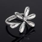 """Кольцо """"Инканто"""", размер 19, цвет белый в серебре"""