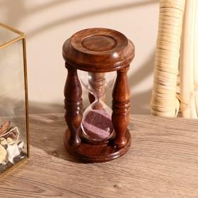 "Песочные часы ""Колизей"" дерево 14х8х8 см (140 секунд)"