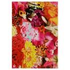 """Блокнот А7, 70 листов на клею """"Цветочный ковер"""", твердая обложка, глянцевая ламинация"""