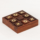 "The game tree for ""TIC-TAC-toe"" 13,5х13,5x3,5 cm"