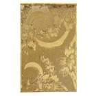 """Блокнот А7, 70 листов на клею """"Цветы. Золото"""", твердая обложка, балакрон"""