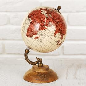 Сувенир глобус 'Пустыня' 12,5х12,5х21,5 см Ош