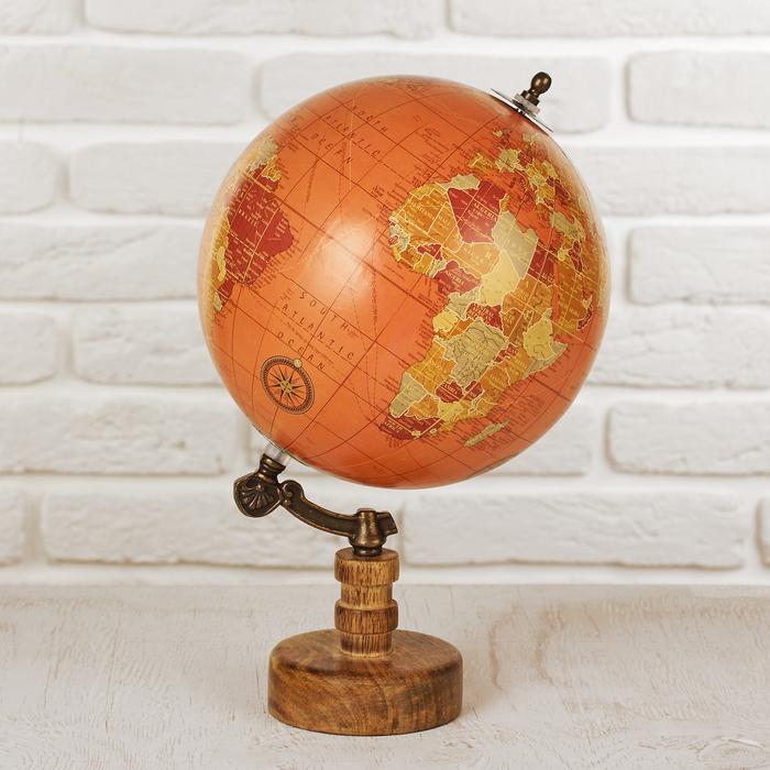 """Сувенир глобус """"Солнце"""" 20,3х20,3х33 см"""