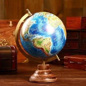 Сувенир глобус 'Земля' 22х22х32 см Ош