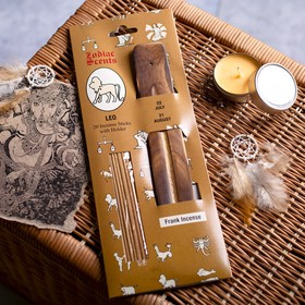 """Aromabar flavors of the zodiac """"Leo"""" (20 sticks with wooden stand)"""