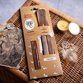 Aromabar flavors of the Zodiacs Scorpio (20 sticks with wooden stand)
