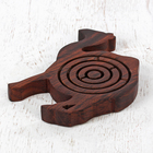 "Puzzle ""Labyrinth - camel"" tree 13х12,5x1,5 cm"
