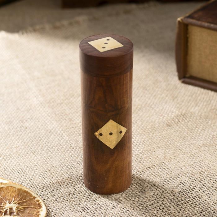 "Настольная игра ""Кубики"" дерево 4х4х12,5 см"