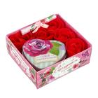 """Подарочный набор """"С праздником весны!"""": шкатулка, мыльные лепестки, пожелание"""