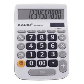 Калькулятор настольный, 12-разрядный, 3867B, двойное питание