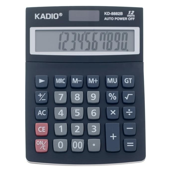 Калькулятор настольный, 12-разрядный, 8882B - фото 515416794