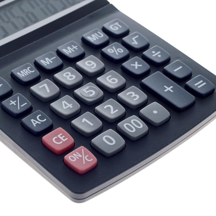 Калькулятор настольный, 12-разрядный, 8882B - фото 515416796