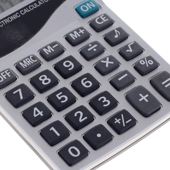 Калькулятор настольный, 8-разрядный, 1600A, двойное питание - фото 545242620