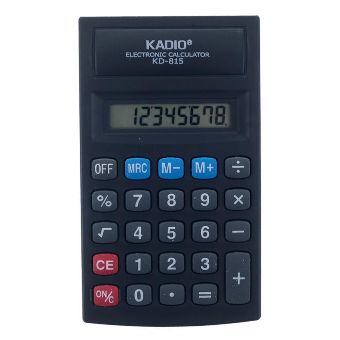Калькулятор настольный, 8-разрядный, 815 - фото 443620134