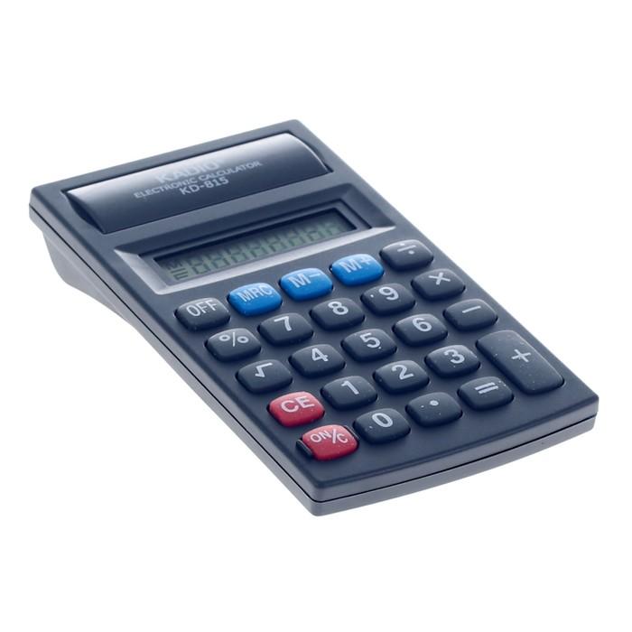 Калькулятор настольный, 8-разрядный, 815 - фото 443620135