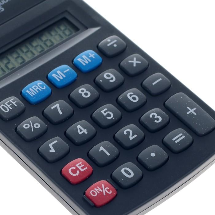 Калькулятор настольный, 8-разрядный, 815 - фото 443620136